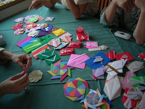 折り紙 ~シンプルポチ袋~ - えつこのマンマダイアリー