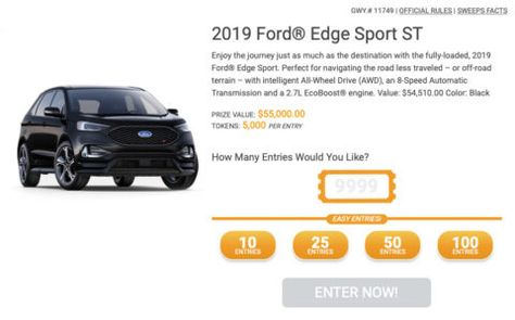 Put The Pedal To The Metal With A 2019 Ford Edge Sport St Ford