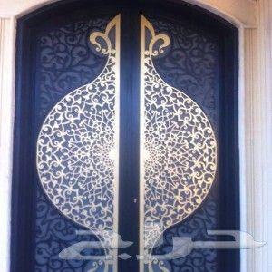 رسم زخارف ابواب و خشب ابواب حديد مشغول ل Decor Home Decor Decorative Plates