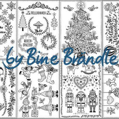 Vorlagenmappe Frohliche Weihnachten Bine Brandle Fensterbilder Weihnachten Fensterbilder Weihnachten Basteln Weihnachten Vorlagen