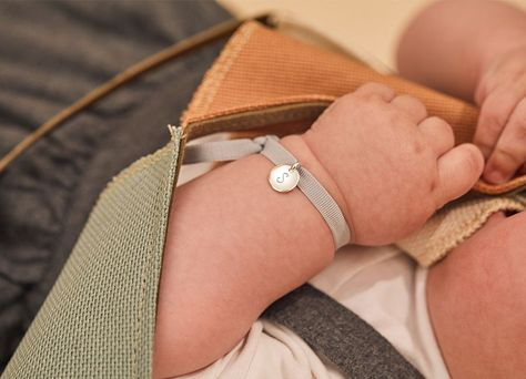 The Stretchy Bracelet, in a range of six colours, is designed to showcase your special little person in more ways than one - their favourite colour and a keepsake hand-engraved message. #kidsbracelets