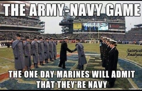 Army Vs Navy Game Truth With Images Navy Humor Army Humor