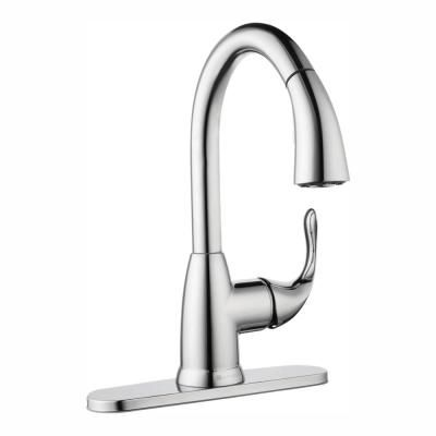 Glacier Bay Dylan Single Handle Pull Down Kitchen Faucet With