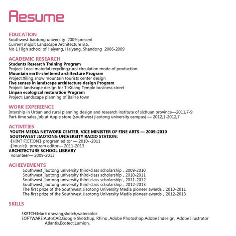 9 best cv images on Pinterest Landscaping, Newspaper and Website - youth minister resume
