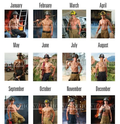 Fireman Calendar Hot Firemen Hot Firefighters Firefighter Calendar