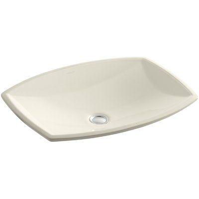 Kohler Kelston Ceramic Rectangular Undermount Bathroom Sink With