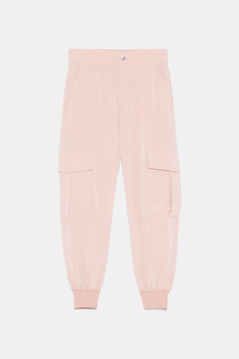 Pantalon Cargo Cremalleras En 2020 Pantalones Cargo Pantalones Y Pantalones Mujer