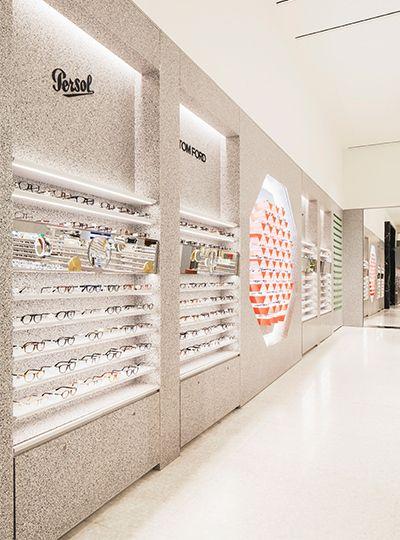 Selfridges Eyewear Destination Nulty Lighting Design Consultants Retail Store Interior Design Eyewear Store Design Store Design Boutique