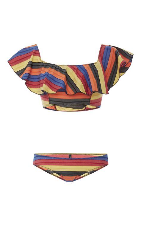 a9b764d55b LISA MARIE FERNANDEZ Mira Flounce Bikini Set. #lisamariefernandez #cloth  #set