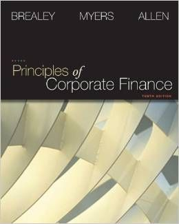 Test Bank Principles Of Corporate Finance 10th Edition By Richard