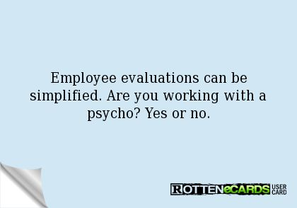 Employee evaluations can be simplified Are you working with a - employee evaluations
