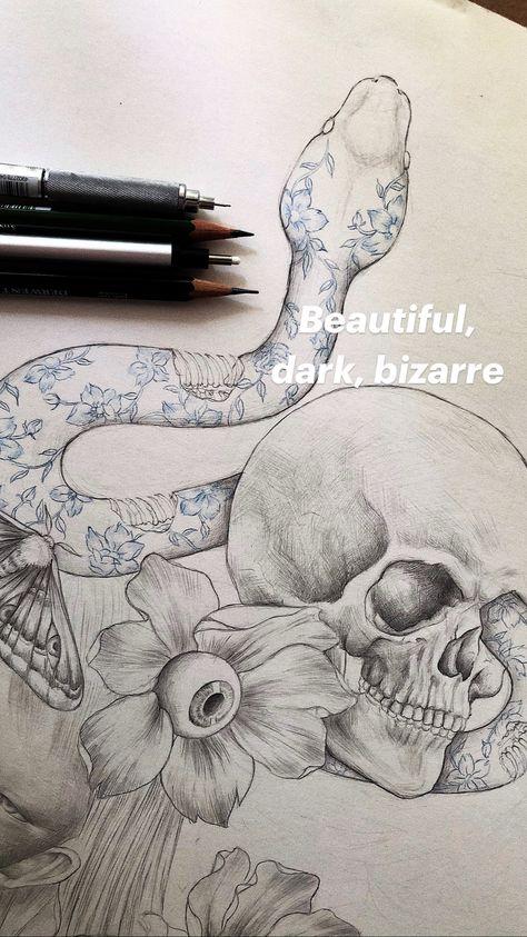 Beautiful, dark, bizarre