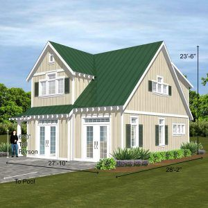 1357 Church Street Slab Creative Living Designs Llc Green Roof House House Paint Exterior Exterior House Options