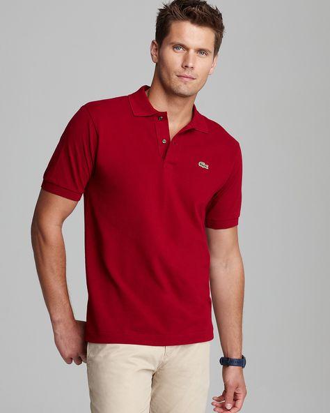 cb36135d9055 Lacoste Classic Short Sleeve Piqué Polo Shirt