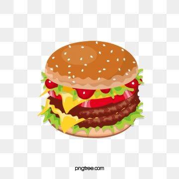 Burger Clipart Beef Hamburger Fast Food American Fast Food Hamburg Real Chicken Burger Beef Hamburger Orr Collar Burger American Fast Food Hamburger And Fries