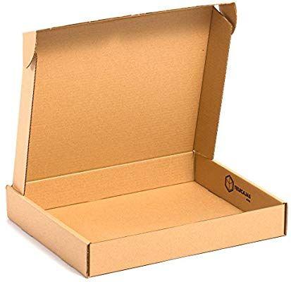 X25 Caja De Carton Automontable Envios Postales 45x35x07 Cms