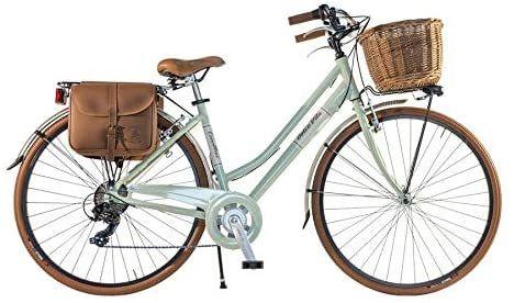 Canellini Via Veneto By Fahrrad Rad Citybike Ctb Frau Vintage Retro Dolce Vita Aluminium Green Hellgrun 43 Amazon De Sport Freize In 2020 Fahrrad Rad Fahrrad Rad