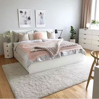 Elegant bedroom rug ideas and design (45) #bedroomrug in ...