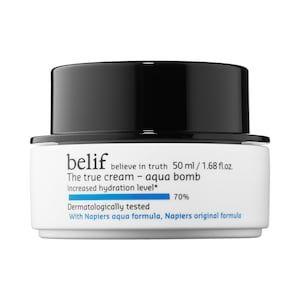 The True Cream Aqua Bomb Belif Sephora Moisturizer For Oily Skin Best Moisturizer Belif