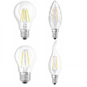 Osram Led Lampe E27 Retrofit Classic A 4w 40 Watt Ersatz Led Birne Als Kolbenlampe Klar Warmweiss 2700k Amazon De Led Lampe Led Led Birnen