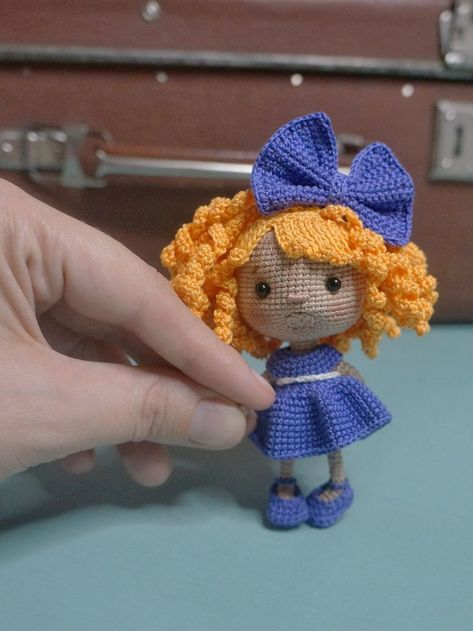Please note: this is a downloadable PATTERN, not a finished doll. This pattern includes: - A pdf file with detailed instructions of the doll - 18 pages long and has many pictures to help you by working - The pattern is available in English (US terms). Crochet level: intermediate and above. You can easily crochet this toy if you know the basic stitches and methods used to create an amigurumi toy.