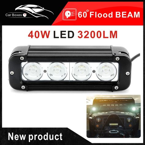 High Intensity 5W LED/'s 12v,24v,4x4 4WD Offroad LED Light Bar– CREE 30w 8 Inch