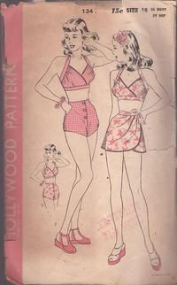 0fd153fe866 1950s French Corset  Garter Belt  2002 vintage sewing pattern from ...