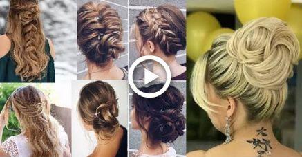 Cute Christmas New Years Eve Hairstyles For Medium Long Hair Tutorial 2017 Haar Tutorial Silvester Frisuren Frisuren Mittellanges Haar