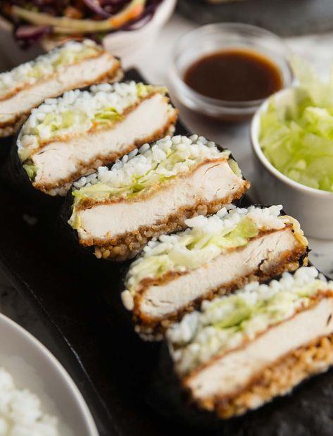 Recetas Gratis Pollo Katsu Sushi Sandwiches Chicken Katsu