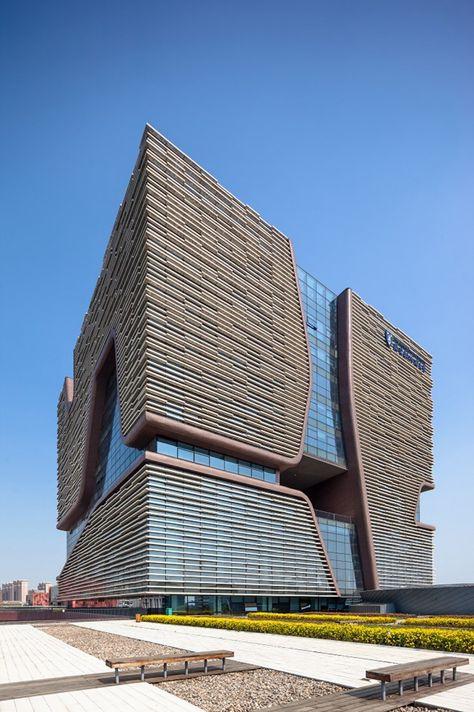 Xi'an Jiaotong-Liverpool University Administration Information Building / Aedas