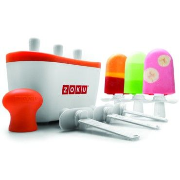 Zoku Quick Popcicle Maker  Now You Can Create Your Own Customized Frozen Pops in as Little as Seven Minutes!