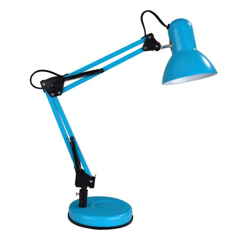 Caractéristiques techniques: Lampe de bureau articulée Ennis Matières : métal…