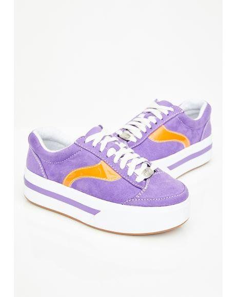 90s #skater #shoes #purple
