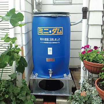 天然木の雨水タンク うっかり腐り水を作らない自然循環方式 お手製ろ過装置 Diy雨水貯留 雨水貯留 雨水タンク 雨水