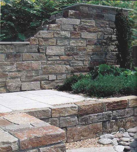15 best Gartenmauer images on Pinterest - steine fur gartenmauer