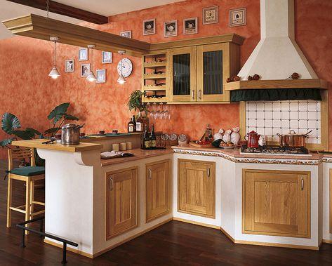30 Foto di Cucine in Muratura Moderne | кухня | Pinterest | Cucina ...