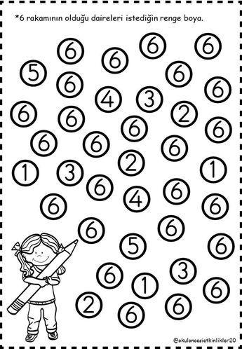 Funda Adli Kullanicinin Sayi Panosundaki Pin Anaokulu Matematigi