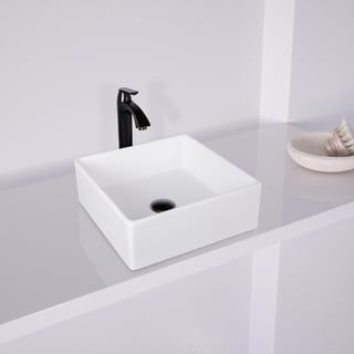Shop For Vigo Dianthus Matte Stone Vessel Sink And Linus Antique Rubbed Bronze Bathroom Vessel Bathroom Sink Faucets Bronze Bathroom Sink Faucets Sink Faucets