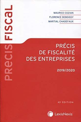 Telecharger Ou Lisez Le Livre Precis De Fiscalite Des Entreprises 2019 2020de Han Au Format Pdf Et Epub Ici Fiscalite Des Entreprises Fiscalite Telechargement