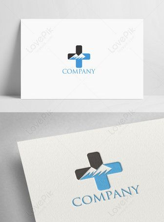 Creative Minimalist Mountain Health Logo