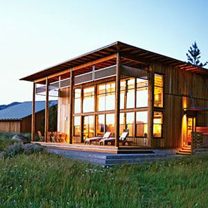 A small cabin home that lives big