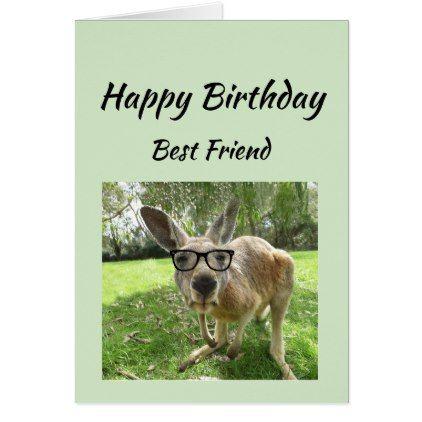 Birthday Best Friend Never Find Another Animal Fun Card Zazzle Com Australia Animals Australian Animals Cool Pets