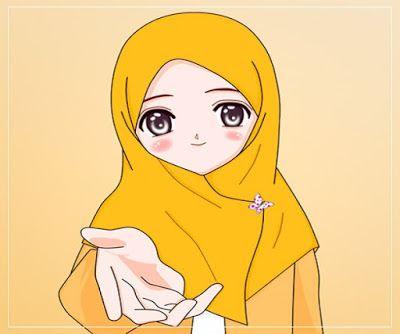 Gambar Kartun Wanita Muslimah Tersenyum Gambar Kartun Muslimah Solehah In 2020 Cute Girl Drawing Hijab Cartoon Islamic Cartoon