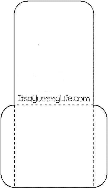 Library Pocket Template