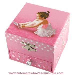Carillon Con Ballerina.Carillon Portagioie Con Ballerina E Meccanismo Musicale