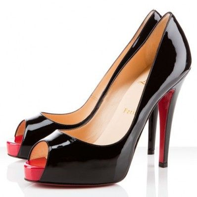 678acc516f9 Christian Louboutin Very Prive 120mm Patent Leather Pumps Black ...