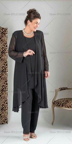 Brautmode Hosenanzug Brautmutter Outfit Kleider Damen Kleider