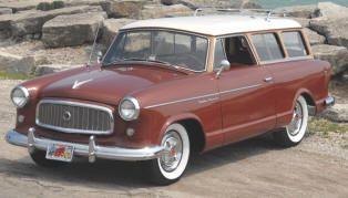 1959 Rambler American Station Wagon Classic Rambler Cars Hard