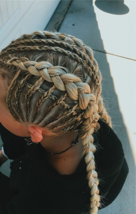 sports style,sports wear,sports oufits,sports clothes,sports fashion The Effective Pict Athletic Hairstyles, Sporty Hairstyles, Easy Hairstyles For Long Hair, Braids For Long Hair, Pretty Hairstyles, Braided Hairstyles, Braids Easy, Braids Cornrows, Fulani Braids