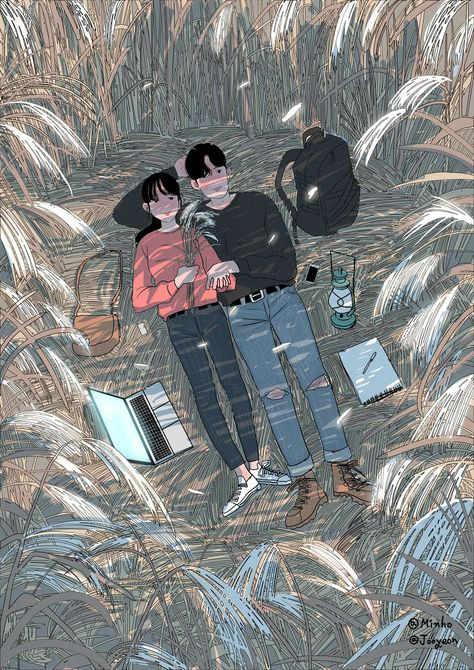 #13 This Korean Artist Giving Serious #Couplesgoals Through His Illustration Drawing